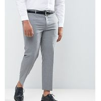 plus slim fit suit trousers in grey - grey, River island