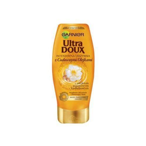 GARNIER 200ml Ultra Doux Cudowne olejki Intensywna odżywka do włosów (3600541598591)