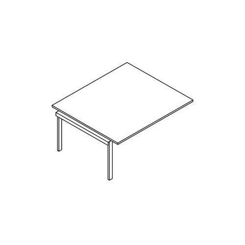 Element do rozbudowy stołów konferencyjnych - bsa114 wymiary: 160x140x75,8 cm marki Svenbox