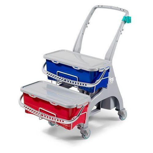 TTS NICK Hermetic 19 lub 16 uchwyt na mop - wózek do dezynfekcji i mycia