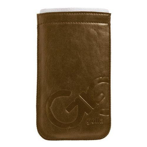 Pokrowiec GOLLA Slim Phone Pocket Leandro (iPhone 5) Brązowy (6419334102016)
