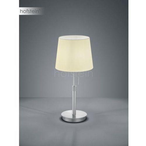 lyon lampa stołowa nikiel matowy, 1-punktowy - nowoczesny - obszar wewnętrzny - lyon - czas dostawy: od 3-6 dni roboczych marki Trio