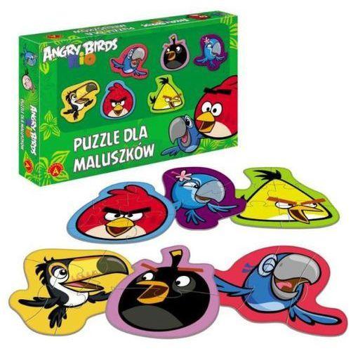 Alexander Puzzle dla maluszków angry birds rio (5906018010787)