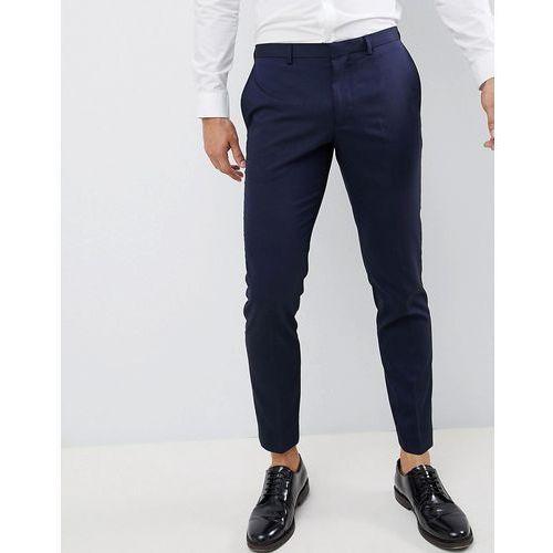 Burton Menswear skinny fit suit trouser in navy - Navy
