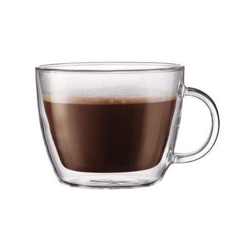 BODUM - Zestaw 2 kubków do latte 0,45l, Bistro, 10608-10 (12389590)
