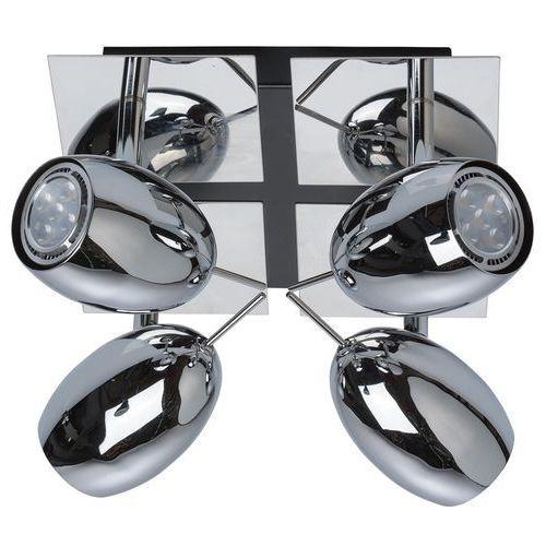 Regulowane reflektory sufitowe LED MW-Light Techno chromowane (506021404) (4250369146666)