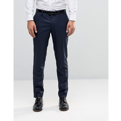 Jack & Jones Premium Skinny Suit Trousers In Navy - Navy