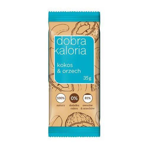 Dobra kaloria Baton owocowy kokos & orzech 35g (5903548002022)
