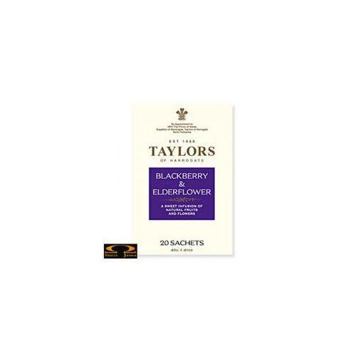 Herbata  herbata blackberry & elderflower, 20 saszetek od producenta Taylors of harrogate