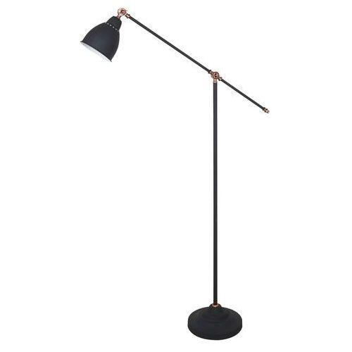 Italux Sonny lampa podłogowa 1-punktowa czarna ml-hn3101-1-b