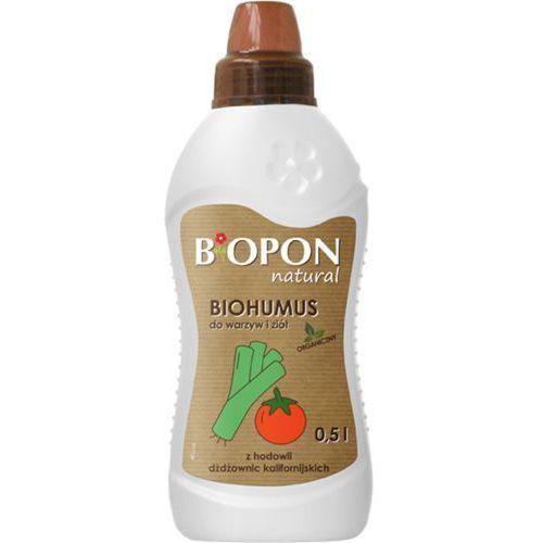 Biohumus do warzyw i ziół Biopon 0,5L, BiohumusWARZ0,5L