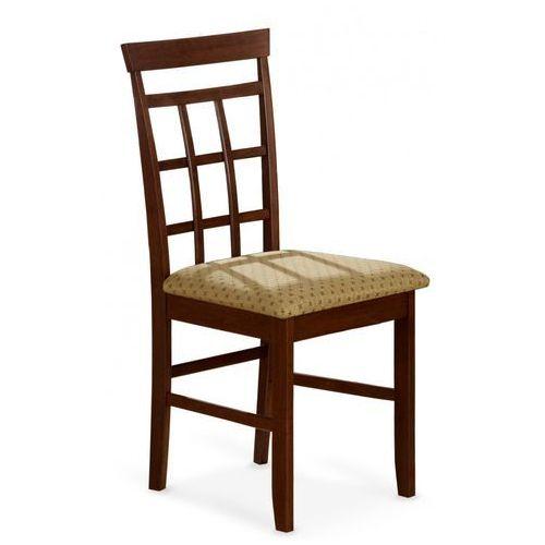 Stylowe krzesło z drewna jonny bis czereśnia antyczna / gwarancja 24m / najtańsza wysyłka! marki Halmar