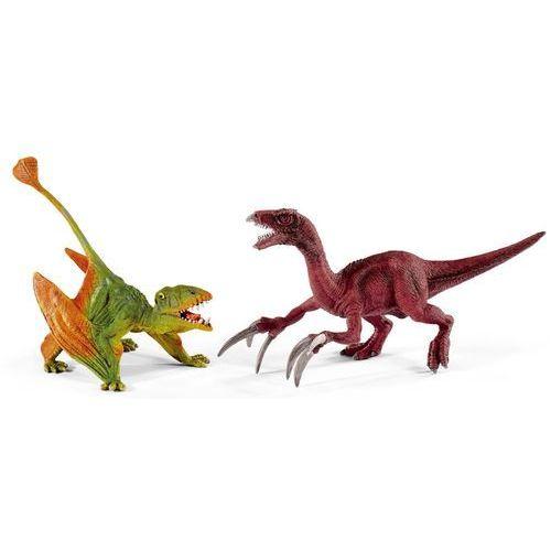 Schleich Mały zestaw Młody Dimorphodon i Młody Therizinosaurus 41425