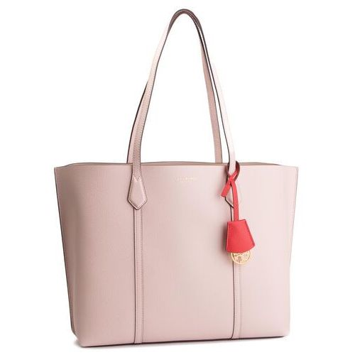 Torebka - perry triple-compartment tote 53245 shell pink 652 marki Tory burch