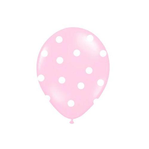 Twojestroje.pl Balon lateksowy słonik różowy 30 cm 1szt (5901157492593)