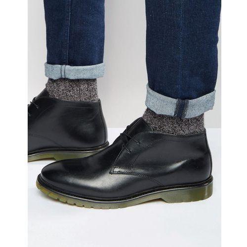 desert boots black leather - black marki Red tape