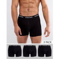 3 pack trunks - black marki Bjorn borg