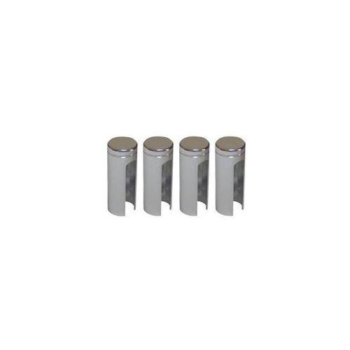 Osłonka zawiasu 14 mm Chrom 4 szt. (5908211420189)