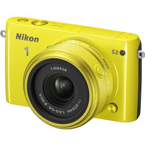 """Nikon 1 S2 [przekątna ekranu 3.0"""", rozdzielczość 14Mpx]"""