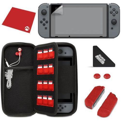 Etui  nintendo switch starter kit mario + zamów z dostawą jutro! + darmowy transport! marki Pdp