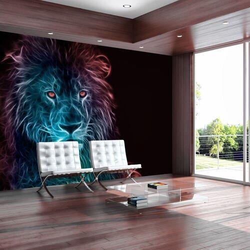 Fototapeta - abstrakcyjny lew - tęcza marki Artgeist