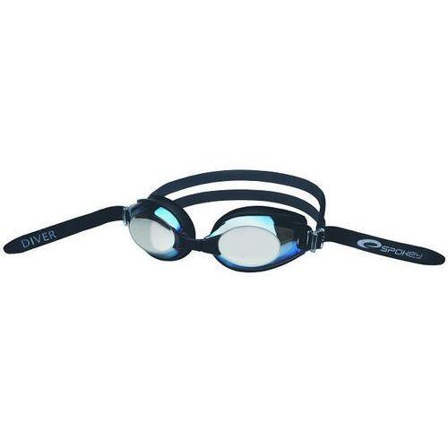 Okulary do pływania diver graphite 84070 marki Spokey