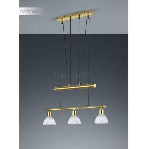 Trio levisto lampa wisząca led mosiądz, 3-punktowe - dworek/vintage - obszar wewnętrzny - levisto - czas dostawy: od 3-6 dni roboczych (4017807281767)