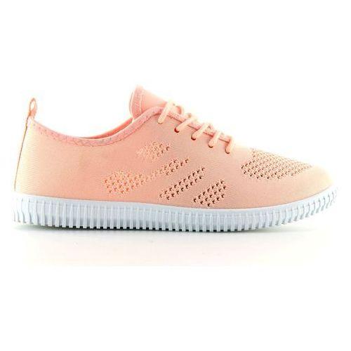 Buty obuwie damskie Tenisówki damskie różowe la10p pink