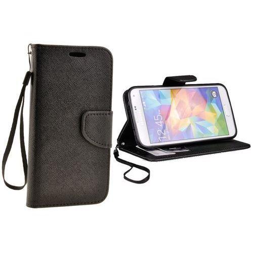 Futerał Fancy Samsung Galaxy S5 / neo g900 czarny (5900217127246)