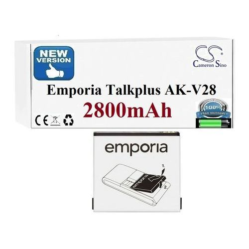 Powersmart Emporia talkplus talkpremium ak-v28 ak-v29 2800mah