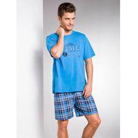 Taro  nikodem 2085 k1 niebieska piżama męska