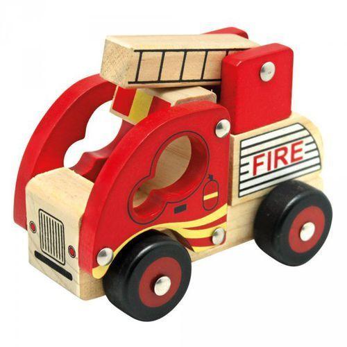 Autko drewniane - straż pożarna marki Bino
