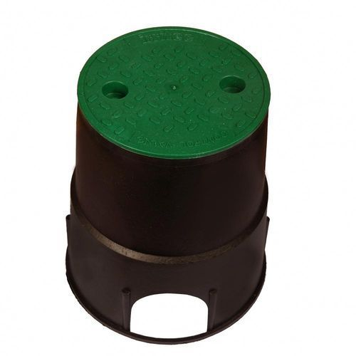 Skrzynka zaworowa 25 x 26 cm okrągła na 2 zawory RAIN (8015455011107)
