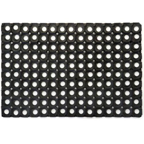Wycieraczka gumowa zewnętrzna / wewnętrzna 50x80 cm wycieraczka ażurowa, gumowa mata marki Linea