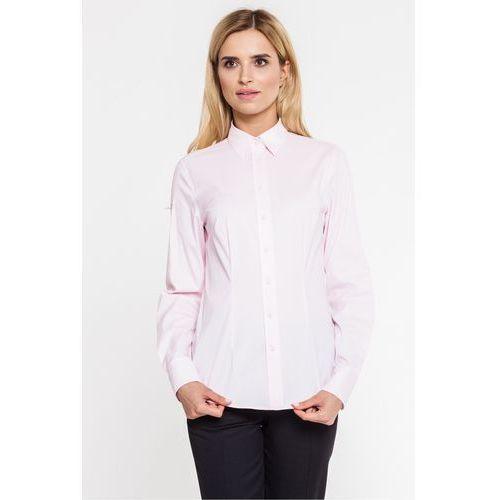 Sobora Różowa, klasyczna koszula -