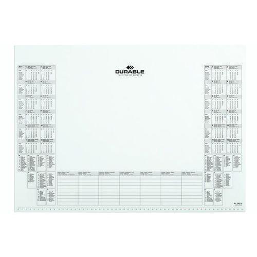 Wkład z kalendarzem do podkładu na biurko marki Durable