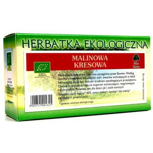 MALINOWA KRESOWA herbatka ekologiczna 20x2g