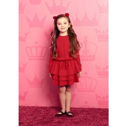 Sukienka Darcy MINI w kolorze czerwonym, kolor czerwony