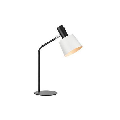 Markslojd Lampa stołowa bodega 107217 stojąca lampka biurkowa biała czarna