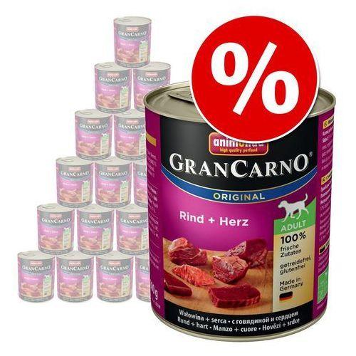 Animonda grancarno adult dog smak: wołowina i kacze serca 800g - 800 \ wołowina i kacze serca (4017721827478)
