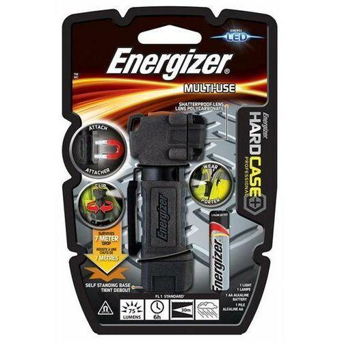 Latarka hard case multi-use + 1szt. baterii aa, czarna marki Energizer