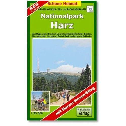 Doktor Barthel Karte Nationalpark Harz