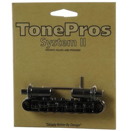 mostek nashville typu tune-o-matic do gitary 7-strunowej, czarny, metryczny marki Tonepros