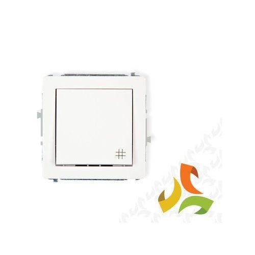 Karlik Deco biały łącznik krzyżowy dwp-6 (5903418061838)