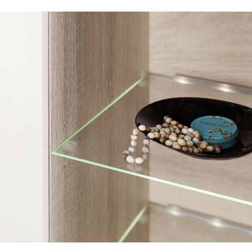 High glossy furniture Oświetlenie 4 led niebieskie