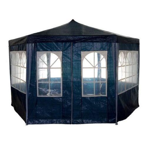 Makstor.pl Pawilon namiot ogrodowy handlowy 6 ścianek - niebieski. Najniższe ceny, najlepsze promocje w sklepach, opinie.