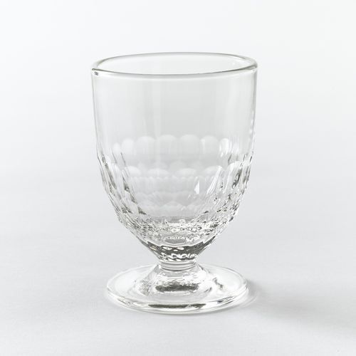 La redoute interieurs Kieliszek na wino, dekor typu plaster miodu, cohani (zestaw 6 szt.) (3613958789292)