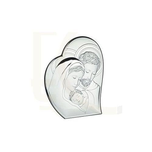Ryngraf z powłoką srebra Święta Rodzina VL81050/1L - ok. 10,7 cm \ ok. 8,8 cm