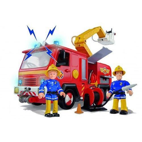 Strażak Sam Wóz strażacki Jupiter z 2 figurkami, 661038