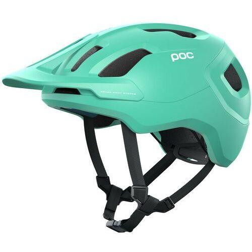 POC Axion Spin Kask, fluorite green matt 51-54cm 2021 Kaski rowerowe (7325549967687)